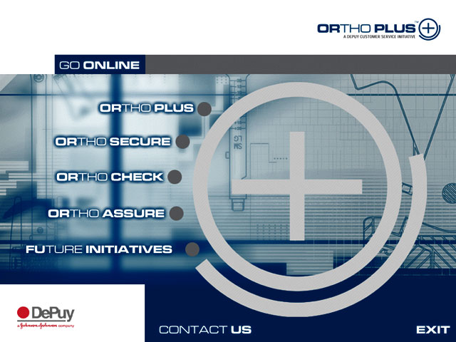 Interactive disc and booklet for for DePuy  by  Wayne Tindall, Chaotica Pty Ltd